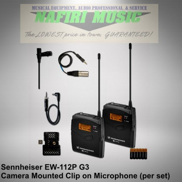 harga Mic Wireless Camera Sennheiser EW112P G3 / EW 112 P G3 / EW 112P-G3 elevenia.co.id