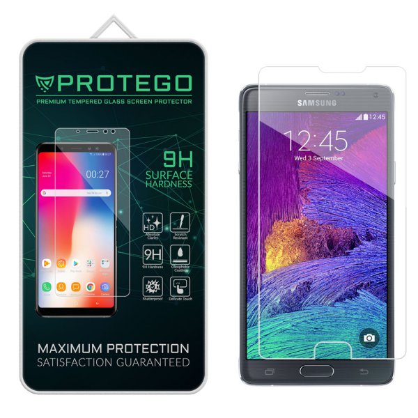 harga Protego Samsung Galaxy Note 4 Tempered Glass Screen Protector elevenia.co.id