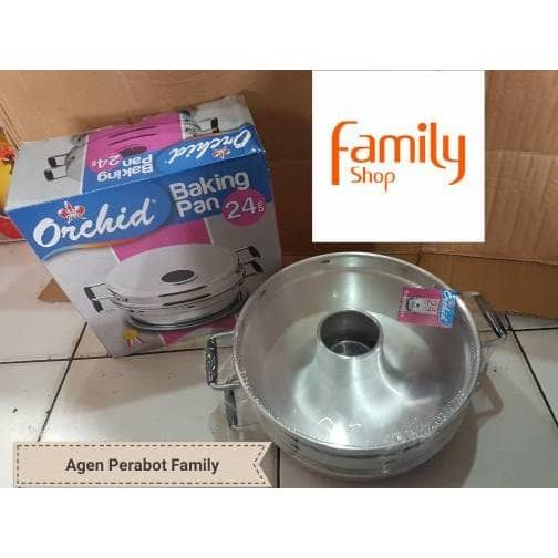 harga [Recommended] BAKING PAN ORCHID 24CM 6 TELOR elevenia.co.id
