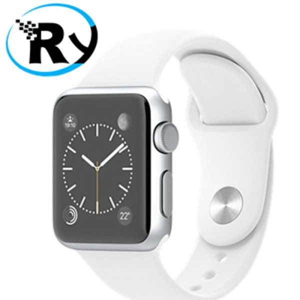 harga (Termurah) Apple Watch 38mm Stainless Steel Case with Sport Band - White elevenia.co.id