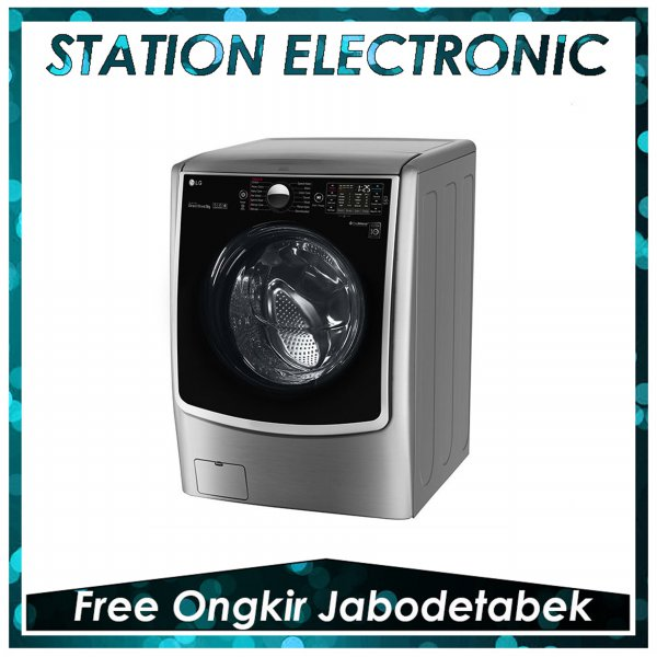 harga LG F2721STWV Mesin Cuci Front Loading [21 Kg/Inverter Motor] + Free Delivery elevenia.co.id