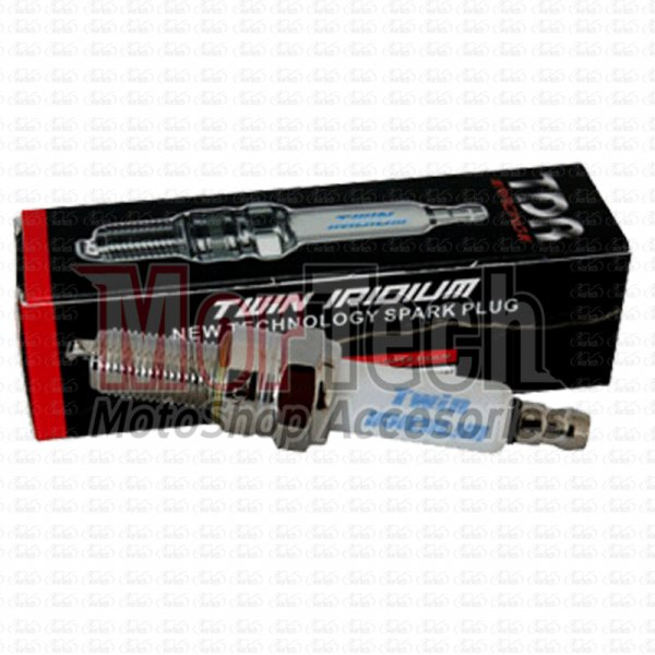 harga TDR 085RT Busi Racing Injeksi Twin Iridium 10mm Panjang for Vario FI 125 elevenia.co.id
