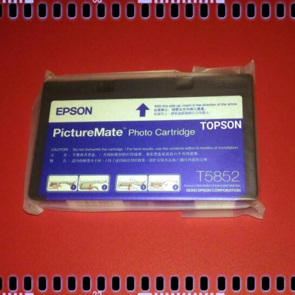 harga (Promo) Epson PictureMate Photo Cartridge PM235 PM245 PM310 ( T5852 ) elevenia.co.id