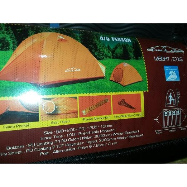 harga TENDA ULTRALIGHT DHAULAGIRI KAPASITAS 4-5 - Tenda Ultralight Not Merapi Mountain Great Outdoor elevenia.co.id