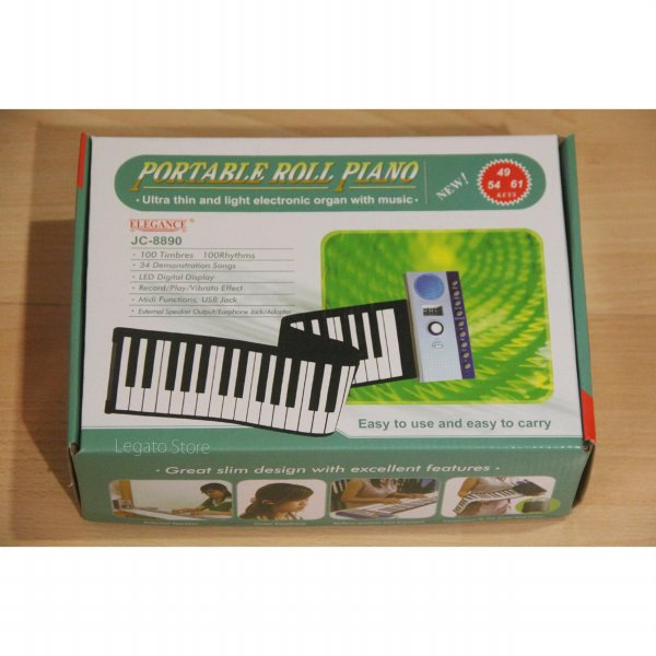 ROLL-UP PIANO Elegance JC-8890, Piano Gulung