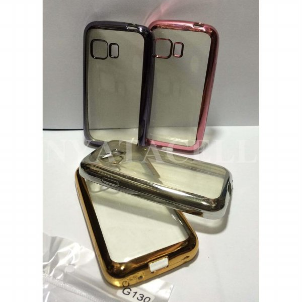 harga Case List Chrome Samsung Galaxy Young 2 G130 TPU/Softcase/Silikon/Soft elevenia.co.id