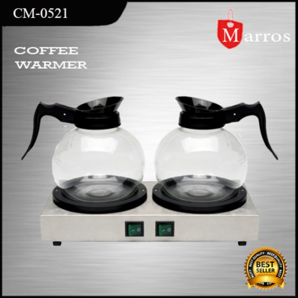 harga Coffee Warmer Getra plus 2 Decanter | Pemanas Kopi dan elevenia.co.id