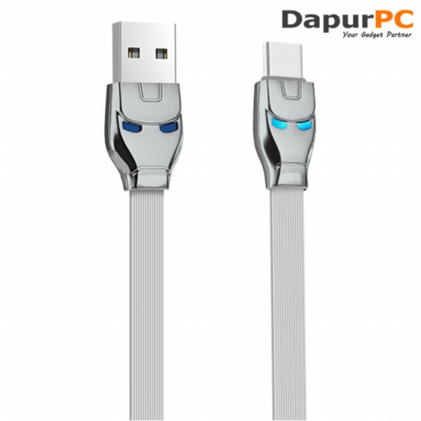 harga Kabel USB Type C HOCO U14 Iron Man elevenia.co.id