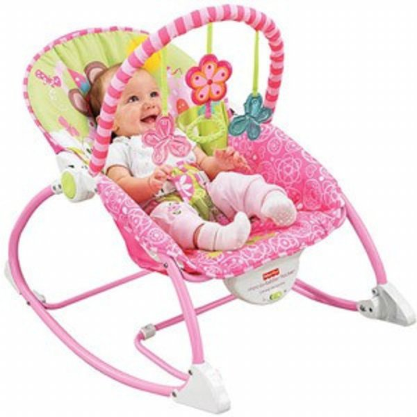 harga BOUNCER FISHER PRICE INFANT TO TODDLER ROCKER - PINK elevenia.co.id