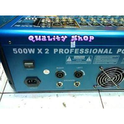 harga Unik POWER MIXER 8 CH PREMIUM DIGITAL PM-812 G POWER 1000 WA Murah elevenia.co.id