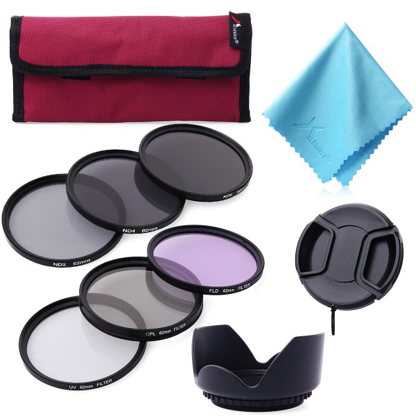 harga Filter 62mm UV CPL Circular Polarizer Fld Nd2 Nd4 Nd8 For Camera Lens/lensa - LF421 elevenia.co.id