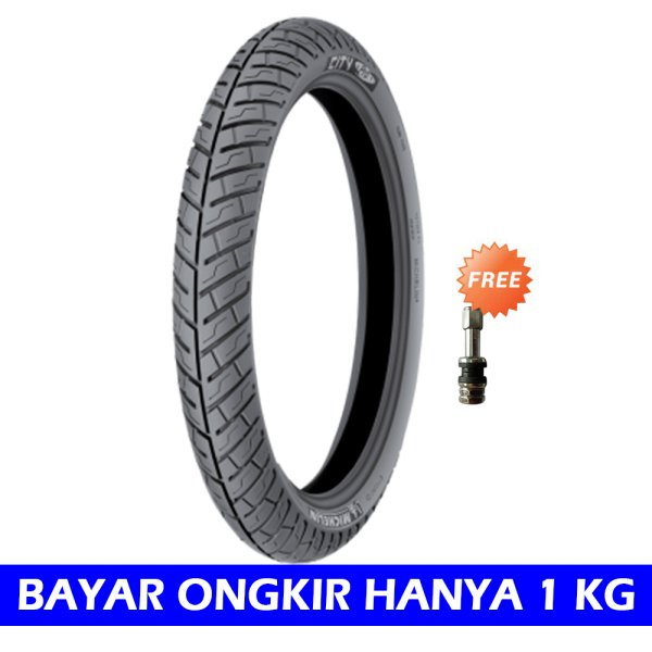 harga Michelin City Grip Pro Ukuran 80/80 - 17 Tubeless Ban Motor [Free Pentil Tubeless] elevenia.co.id