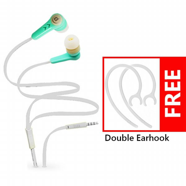 harga Promo Elektronik Bits Earphone Colorfull Edition J337 + Bonus Double Ear Hook Termurah! elevenia.co.id