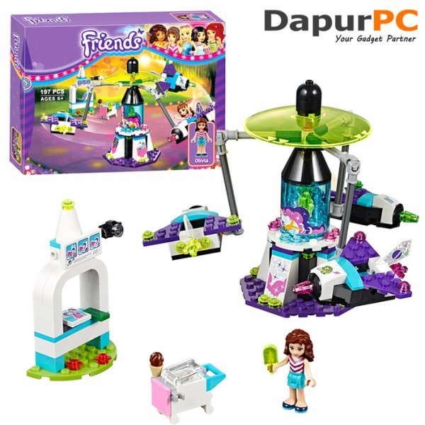 harga Lego Bela 10556 Friends Amusement Park Space Ride Building Blocks elevenia.co.id