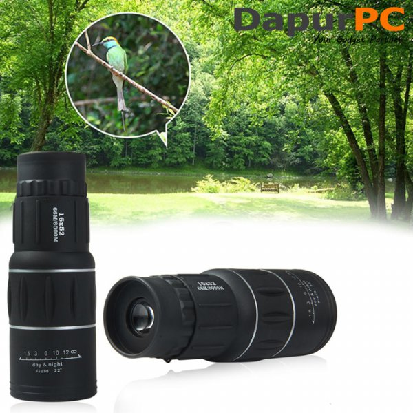 harga Teropong Day Night Mode 16x52 Focus and Zoom Lens Adjustable elevenia.co.id