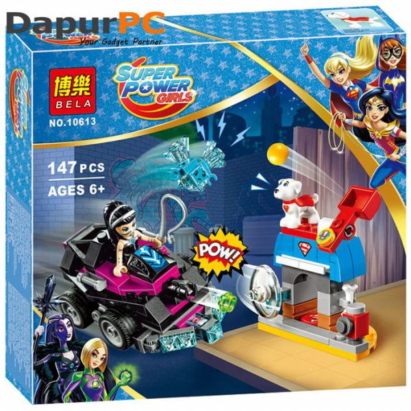 harga Lego Bela 10613 Super Hero Girls Lashina Tank Building Blocks elevenia.co.id