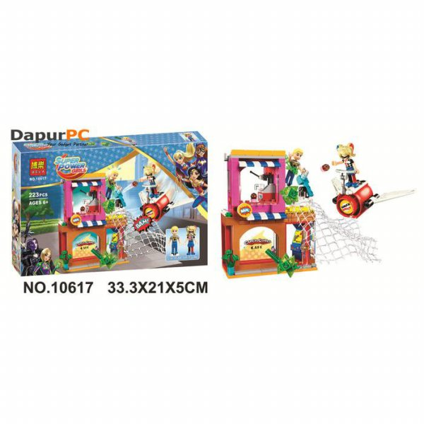 harga Lego Bela 10617 Super Hero Girls Harley Quinn to the rescue Building elevenia.co.id