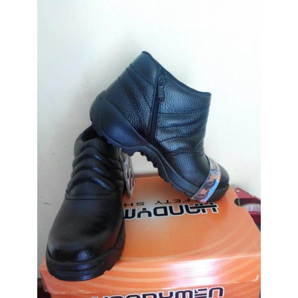 harga Sepatu boot/safety shoes handymen 305/resleting elevenia.co.id