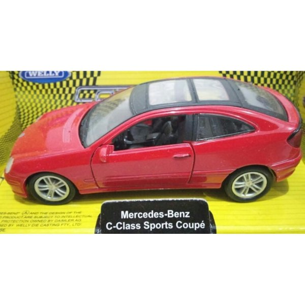 harga Diecast Mercedes Benz C Class Sports Coupe Welly elevenia.co.id