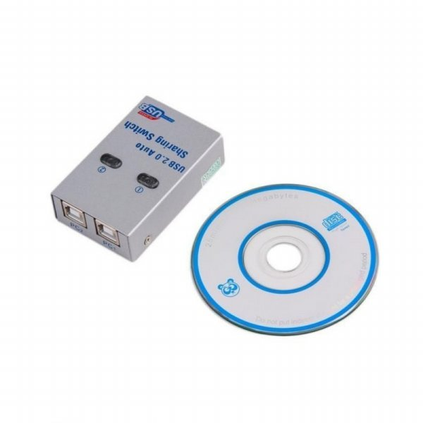 harga [Best Seller] USB AUTO SWITCH PRINTER 2 PORT / DATA SWITCH / USB SHARING SWITCH elevenia.co.id