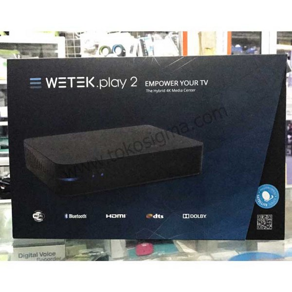 harga Dvb-S2 Wetek Play 2 Hybrid Media Player 4K Android Tv Box HargaPrommo07 elevenia.co.id