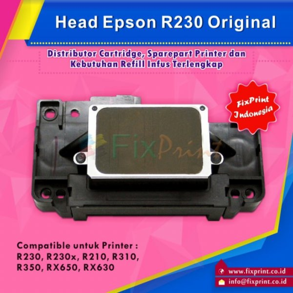 harga Head Printer Epson R230 R230x RX510 R210 R310 R350 RX650 RX630 NEW elevenia.co.id