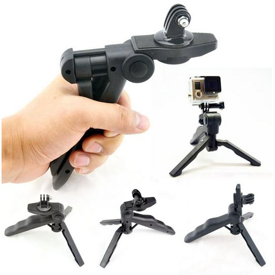 harga Mini Tripod Camera 3 In 1 For Go Pro Hero SJCAM SJ4000 SJ5000 Xiaomi Yi Action Camera elevenia.co.id