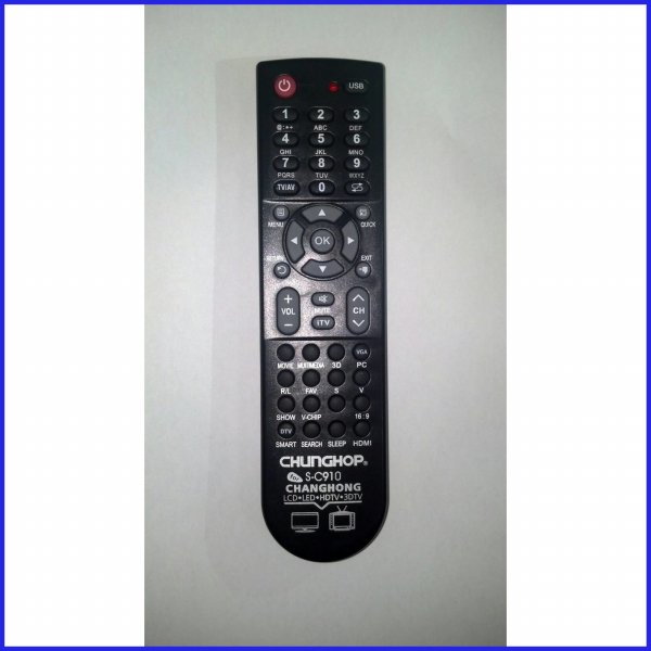harga REMOT/REMOTE TV CHANGHONG LCD/LED MULTI/UNIVERSAL/SERBA GUNA CHP elevenia.co.id
