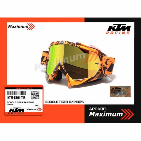 harga [Ready] KTM google tiger rainbow - KTM kacamata trail tiger rainbow elevenia.co.id