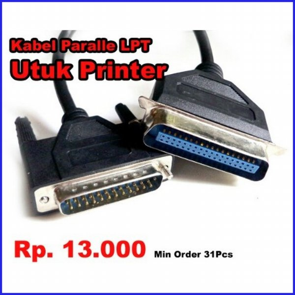 harga Cable Kabel LPT Parallel Untuk Printer Dot Matrix elevenia.co.id
