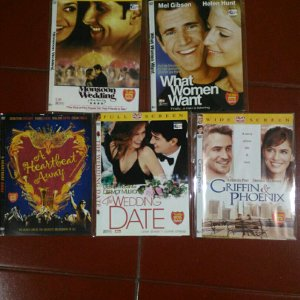harga DVD Original Monsoon Wedding-What woman Want-a heartbeat away-The Wedding Date-Griffin and Phoenix elevenia.co.id