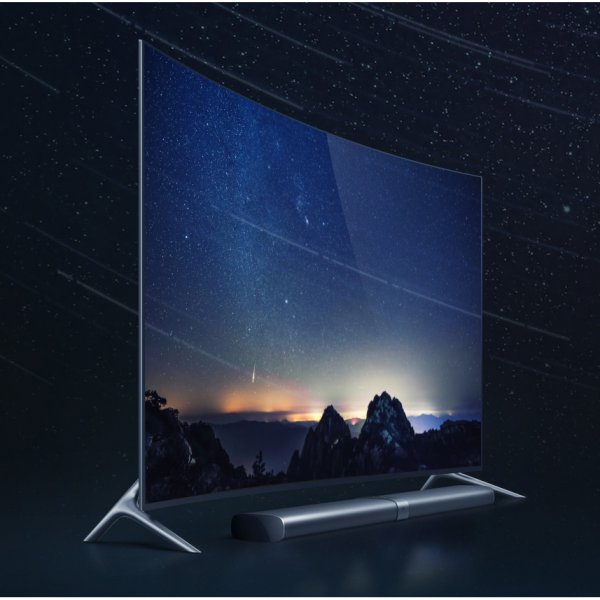 harga Xiaomi Mi TV3s Curved Ultra HD 4K Smart TV with Soundbar (Ex Display) elevenia.co.id