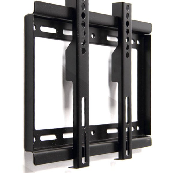 harga TV Bracket Adjustble Left and Right 1.3m Thick 200 x 200 Pitch 4.5cm Wall Distance for 14-42 Inch TV - Black elevenia.co.id
