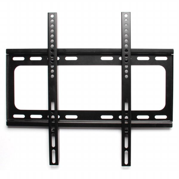 harga TV Metal Stand Bracket 1.3m Thick 400 x 400 Pitch 4.5cm Wall Distance for 32-60 Inch TV - Black elevenia.co.id
