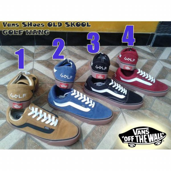 harga SEPATU VANS OLD SKOOL GOLF WANG  GRADE ORIGINAL + BOX elevenia.co.id
