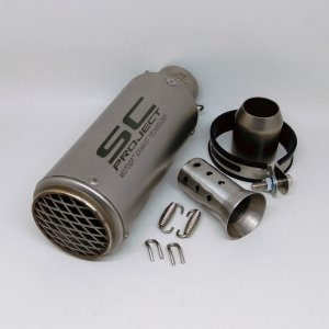 harga Knalpot SC-Project CR-T Import with Mesh Silencer Only elevenia.co.id