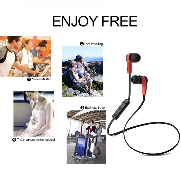 harga Wireless Bluetooth 4.1 Stereo Sport Headset Earphone for iPhone -TH171 elevenia.co.id