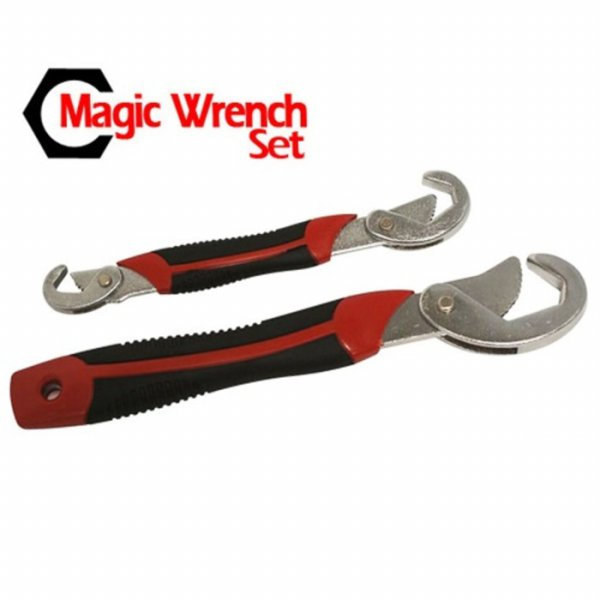 harga Termurah Multifunction Magic Wrench / Kunci Pas - Black/Red elevenia.co.id