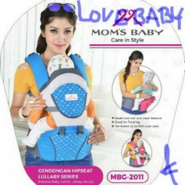 harga Gendongan hip seat moms baby carrier lullaby series elevenia.co.id