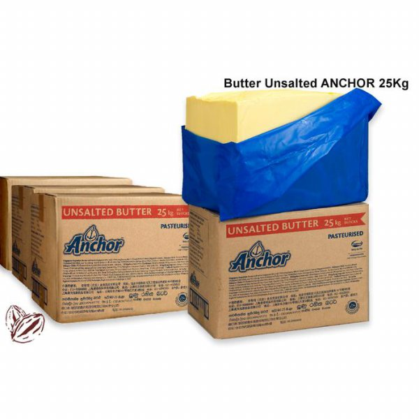 harga Butter Anchor Unsalted 1Kg (Repack) elevenia.co.id