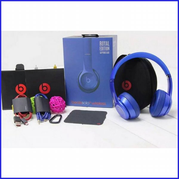 harga Beats Solo Wireless Headphone Special Edition., Dj Headphone - Biru elevenia.co.id