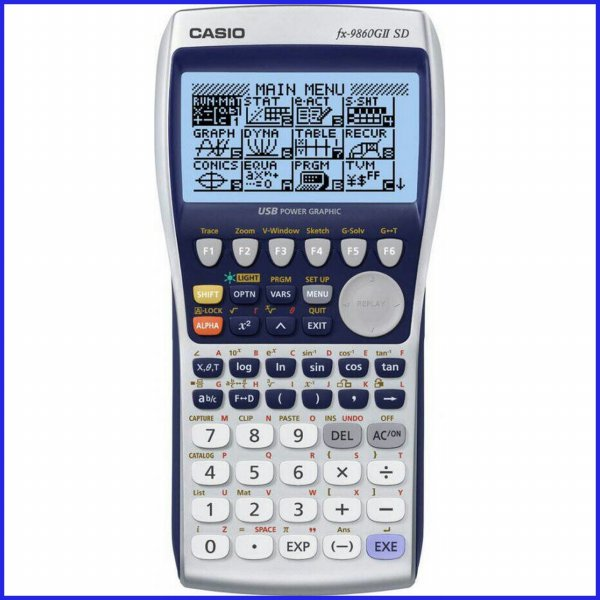 harga Kalkulator CASIO FX-9860GIISD - Scientific Calculator/Ilmiah/Sekolah elevenia.co.id