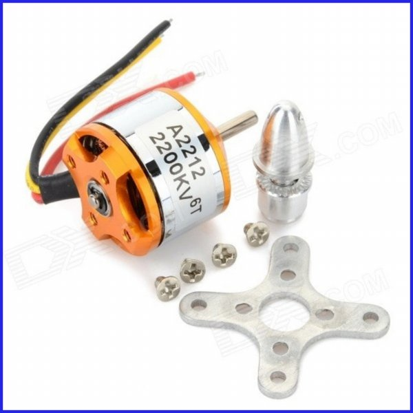 harga Brushless Motor A2212 2200KV Outrunner Motor Dinamo Drone RC Aircraft elevenia.co.id