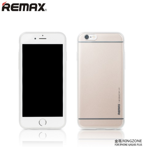 harga Remax Kingzone Series TPU Protective Soft Case for iPhone 6s Plus - Golden elevenia.co.id
