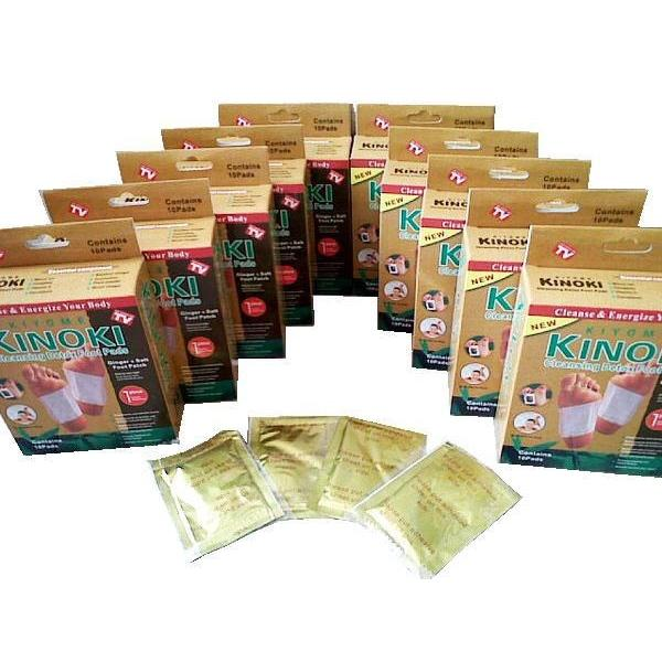 harga Kinoki Gold Detox Foot Patch/ Koyo Penyerap Racun elevenia.co.id