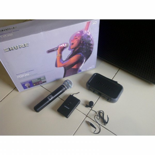 harga READY PGX 242 shure Wireless 2 Mic (genggam+clipOn(jepit)) + hardcase elevenia.co.id