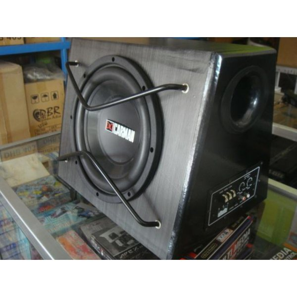 harga SUBWOOFER MOBIL AKTIF , BASS TUBE CARMAN 10' SUPER BASS elevenia.co.id
