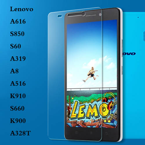 [globalbuy] Clear Screen Tempered Glass For Lenovo A616 S850 S60 A369 A8 A516 K900 K910 S6/3481642