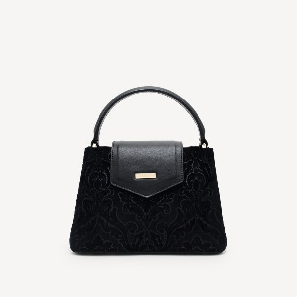 harga Pedro Structured Top Handle Bag Black - (2384 Hitam) elevenia.co.id