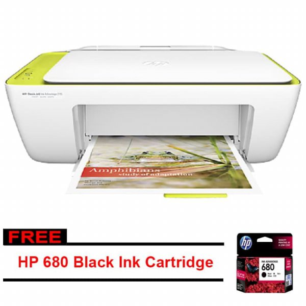harga HP DeskJet Ink Advantage 2135 All-in-One Printer Free ink 680 Black elevenia.co.id